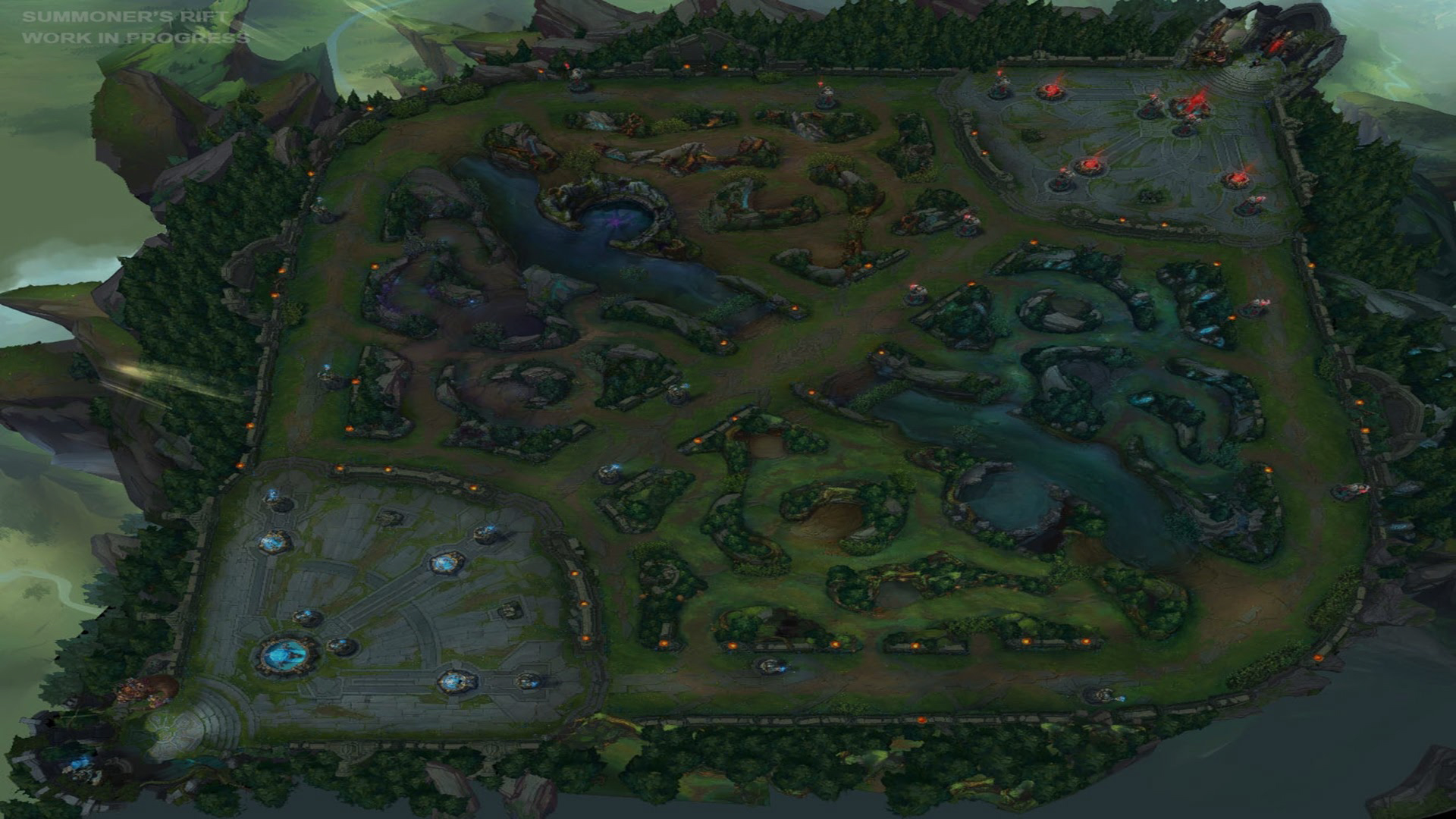 league of legends  tips  mobafanscom  everything about games  - league of legends map