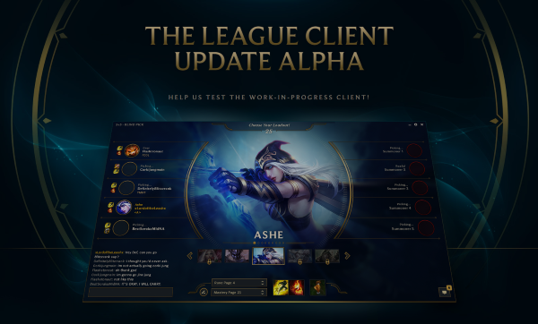 League of Legends alpha