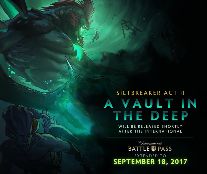 Siltbreaker Act II Postponed